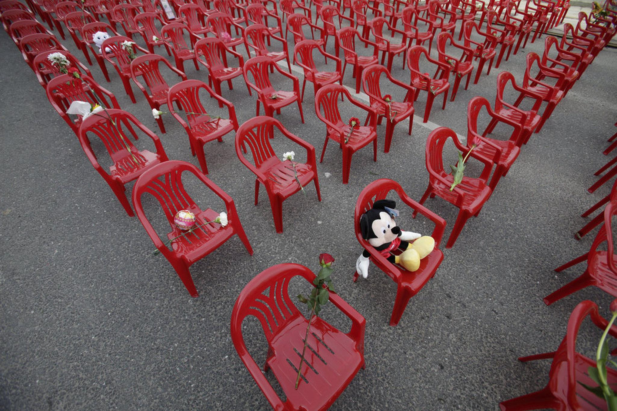 red chairs sarajevo hickory dining room peace justice elude rape victims of bosnian war new