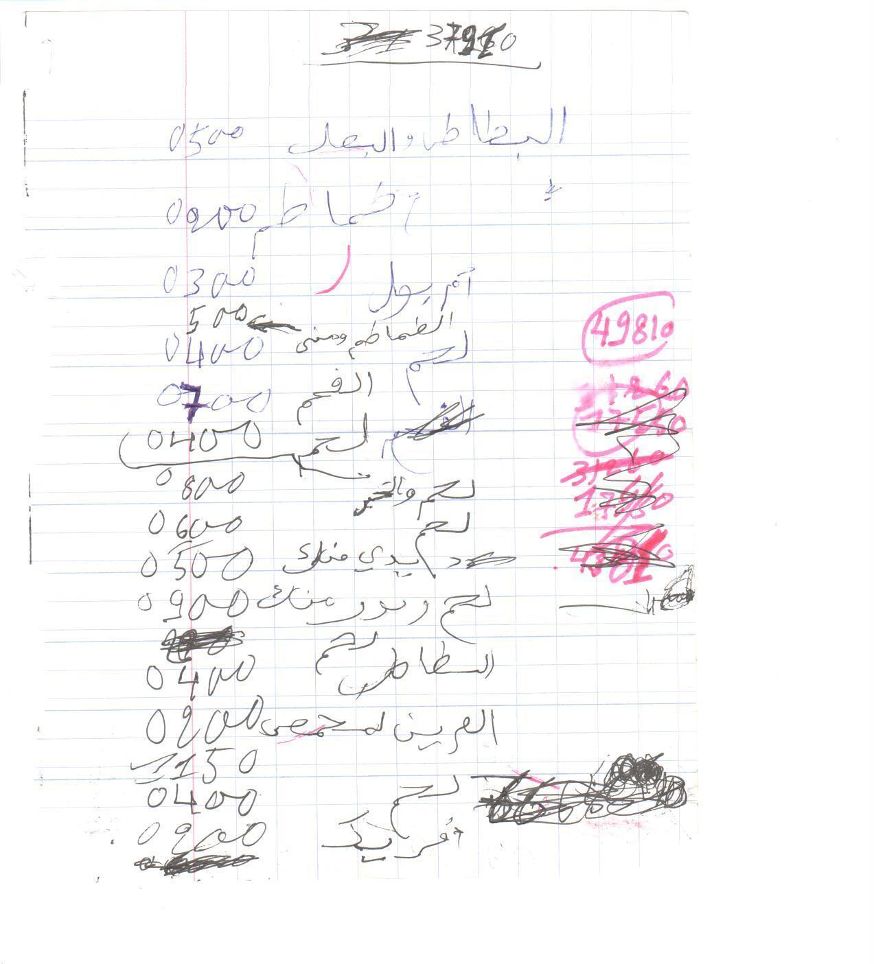 Al-Qaida's Receipts: From 60-Cent Cake To A $6,800