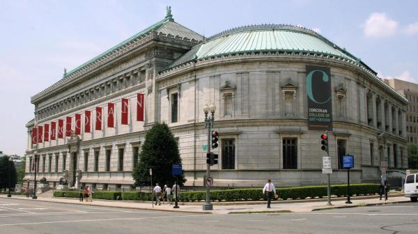 Washington' Corcoran Museum Over National