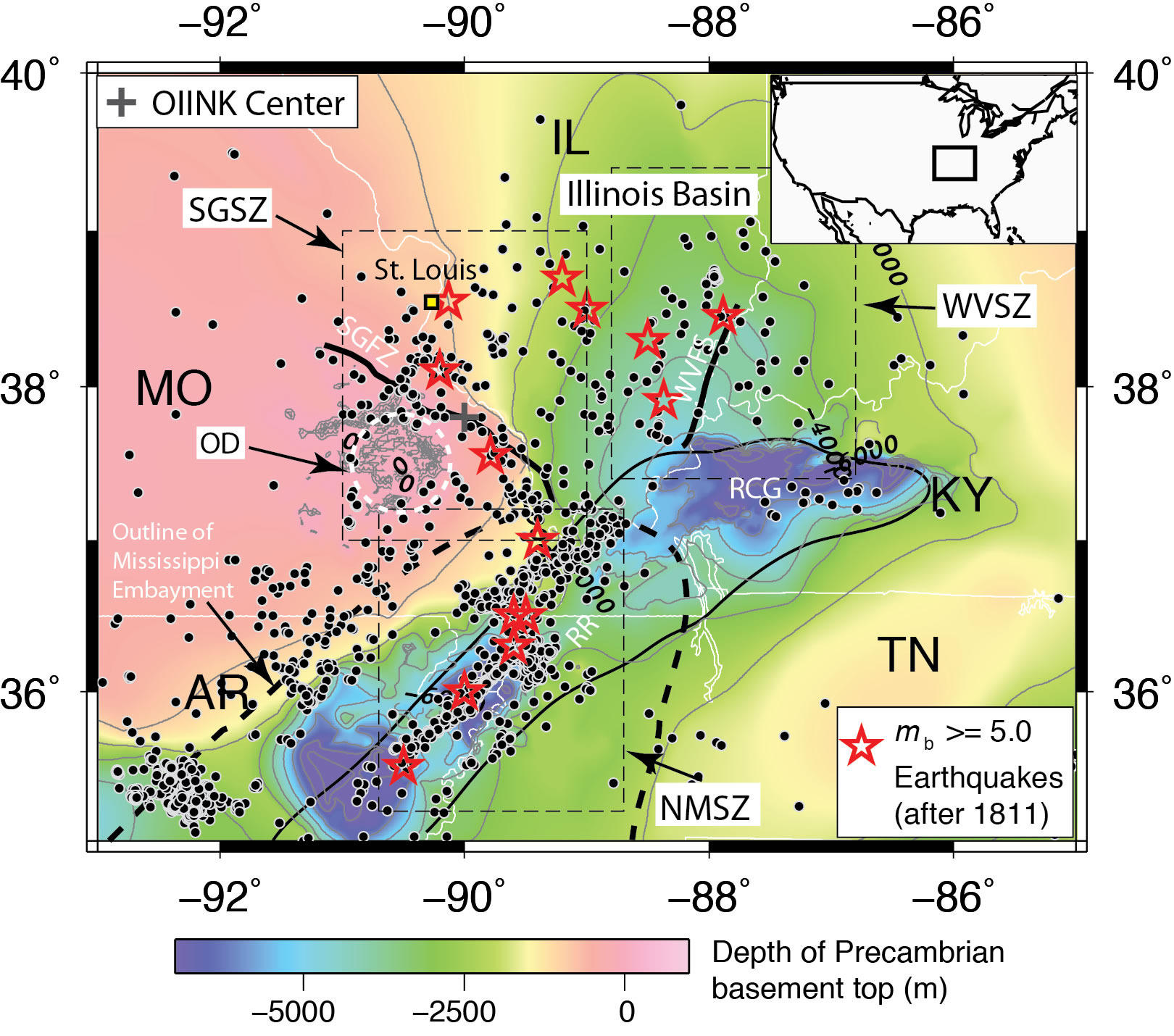 Geologists Record Widespread Activity On Ste Genevieve Seismic Zone