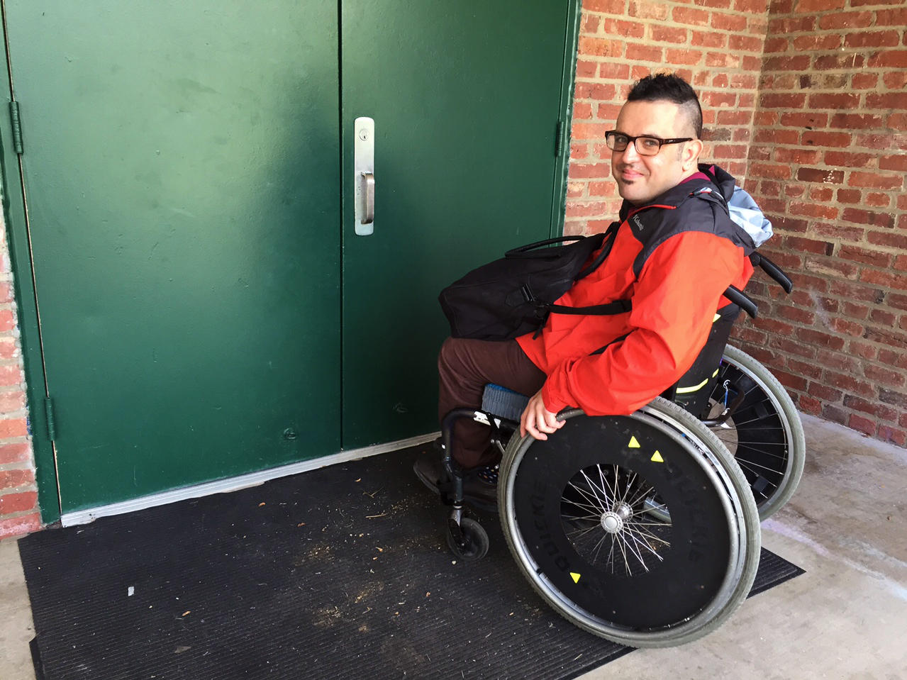 wheelchair fight bobs furniture chairs voters with disabilities for more accessible polling