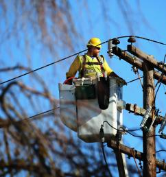 a worker repairs electrical lines in plainview n y after superstorm sandy in 2012  [ 2400 x 1598 Pixel ]