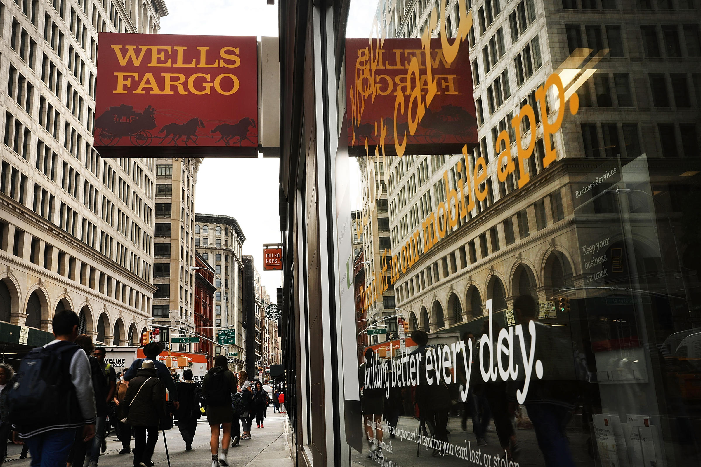 Wells Fargo Hit With 1 Billion In Fines Over Home And