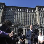 Once An Icon Of Detroit Decay Historic Train Station Has New Owner Ford 90 5 Wesa