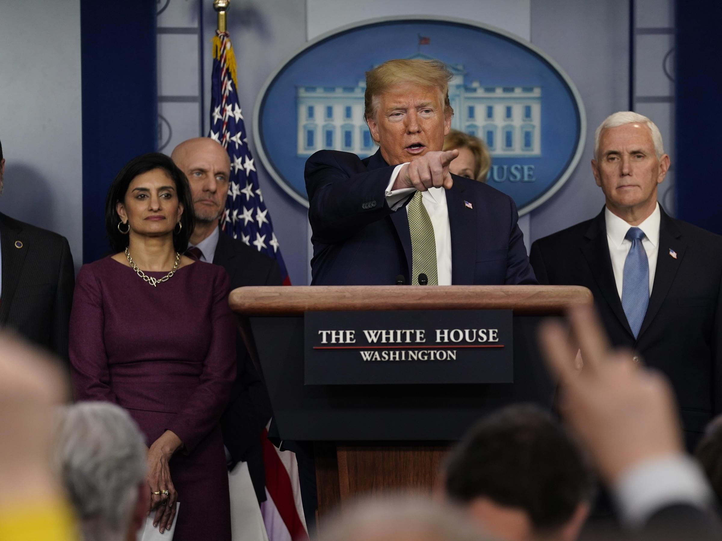 White House Wants To Send Checks To Americans As Coronavirus ...
