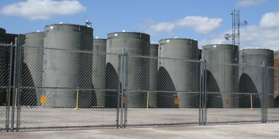 Image result for cask storage at reactor sites