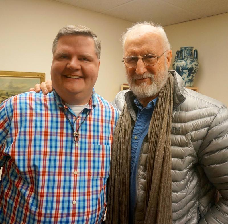 Joe Donahue and James Cromwell