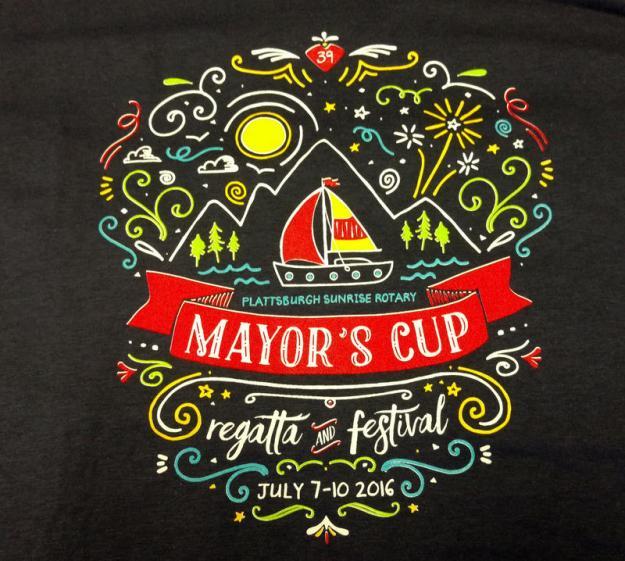 Mayor's Cup featival logo on tee-shirt