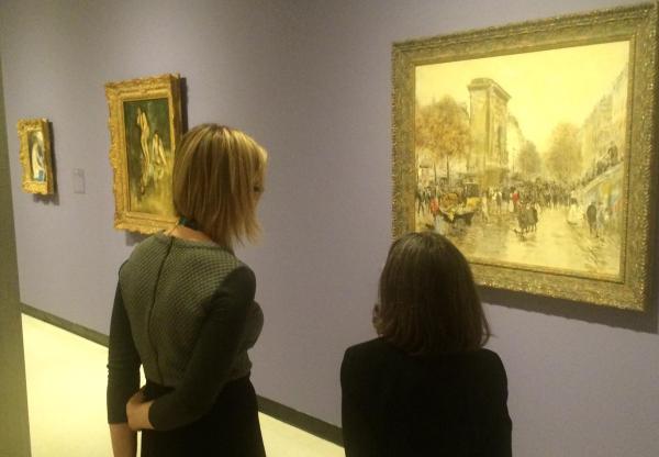 Monet-starring Albright-knox Exhibit Make