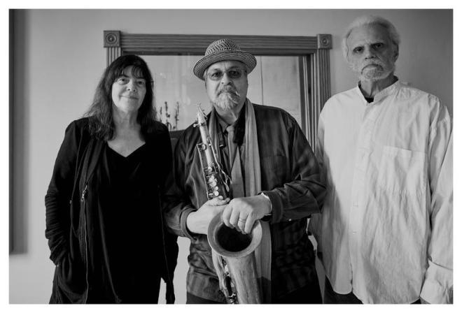 Marilyn Crispell, Joe Lovano and Carmen Castaldi, who appear on Lovano's 'Trio Tapestry'