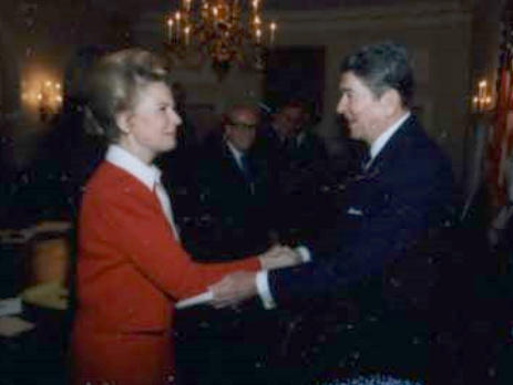 Image result for phyllis schlafly and ronald reagan