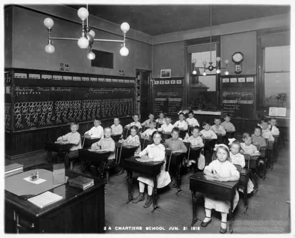 1800s Public Schools Classrooms