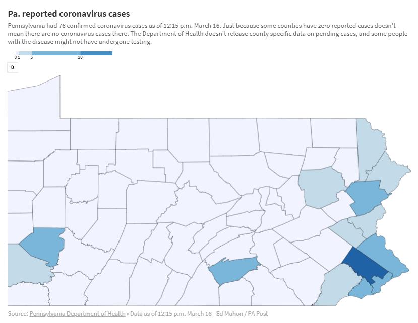 LIVE BLOG: Coronavirus In Pittsburgh, March 16-22   90.5 WESA
