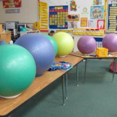 Ball Chairs For Students Fishing Chair Decathlon Davidson Elementary Class Trades Stability