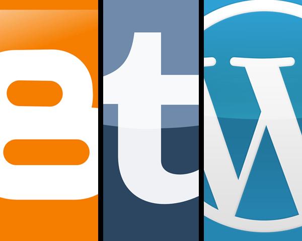 website gratis blogger wordpress tumblr