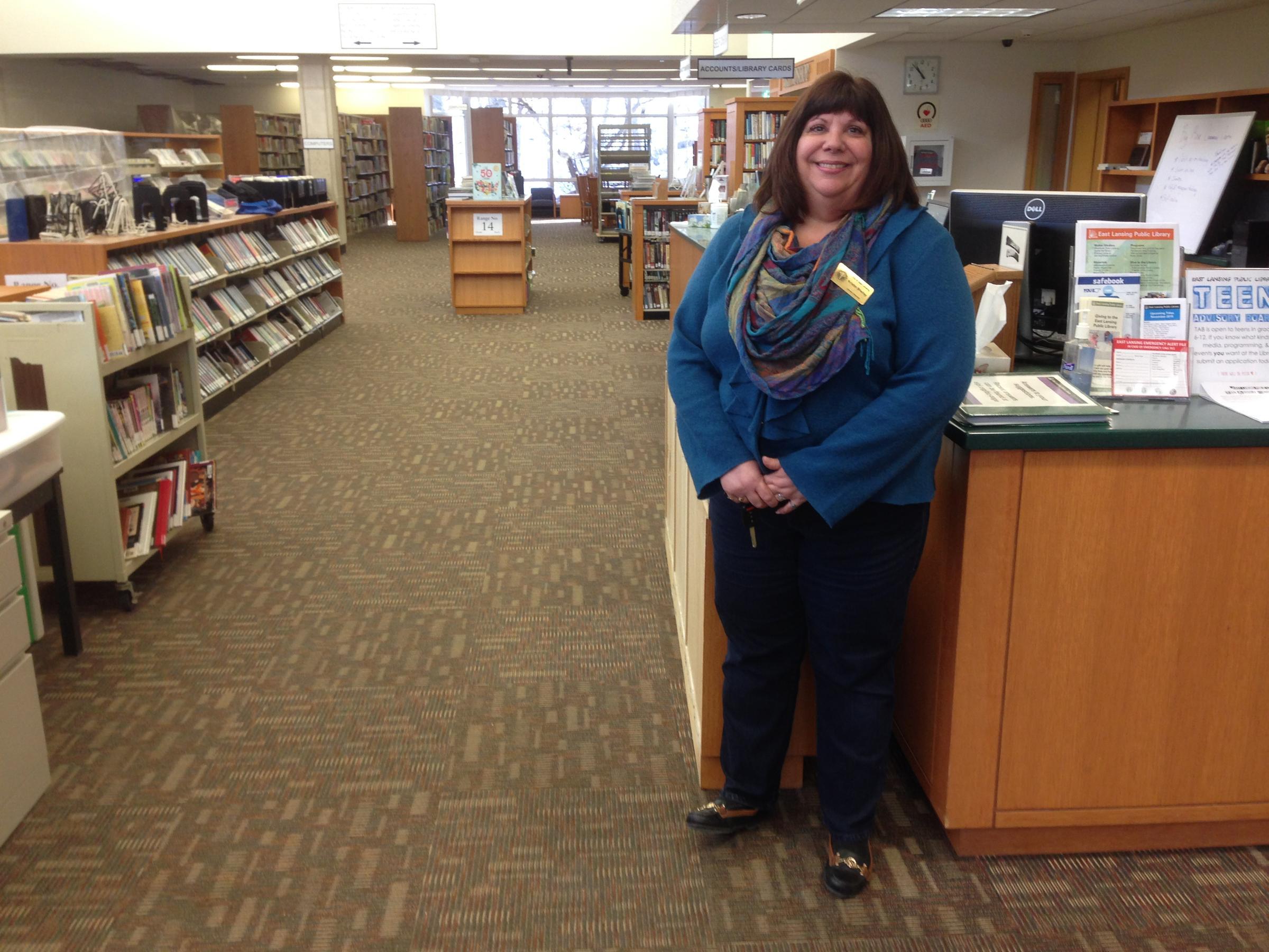 Pardon the dust EL public library opens door amidst