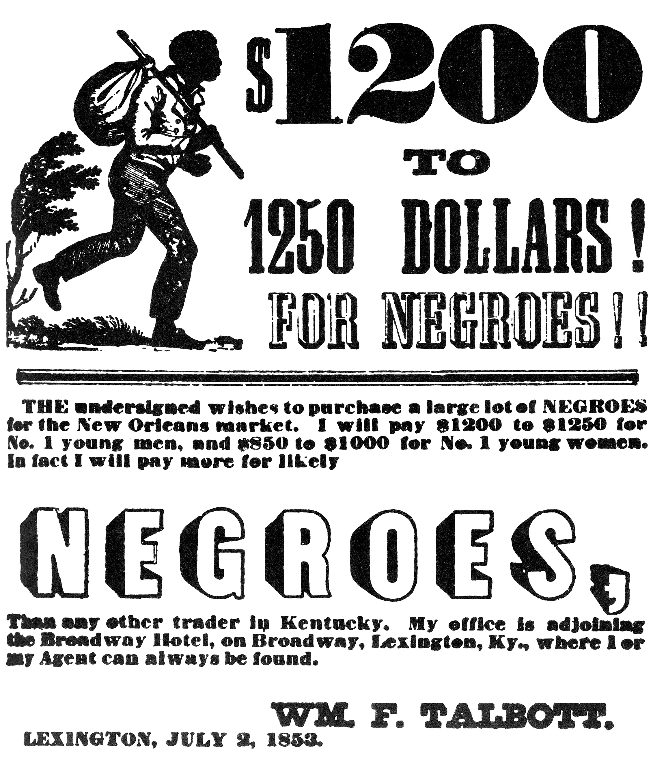 How Lexington, Ky became the largest slave market in the