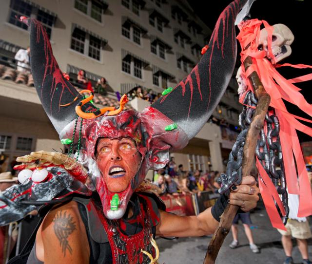 The Saturday Night Fantasy Fest Parade Brings An Estimated  People To Downtown Key West