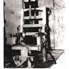 Florida Electric Chair Bean Bag Chairs Bangkok A Grisly Timeline S Lindbergh Kidnapping Case Wlrn Many States Had An Usually It Was Nicknamed Old Sparky Retired In 2000