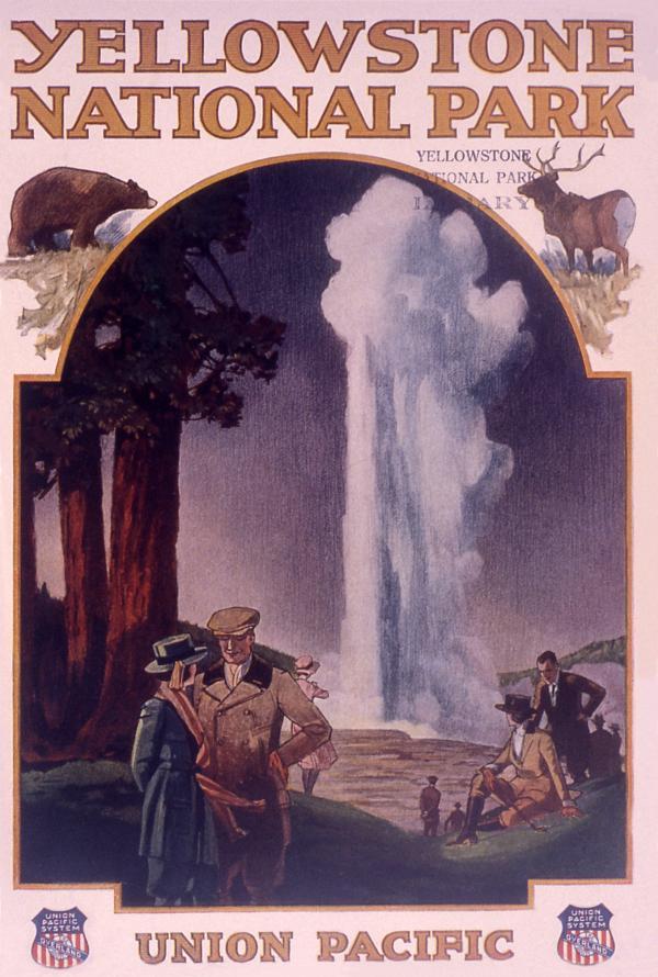 Union Pacific Railroad Yellowstone National Park