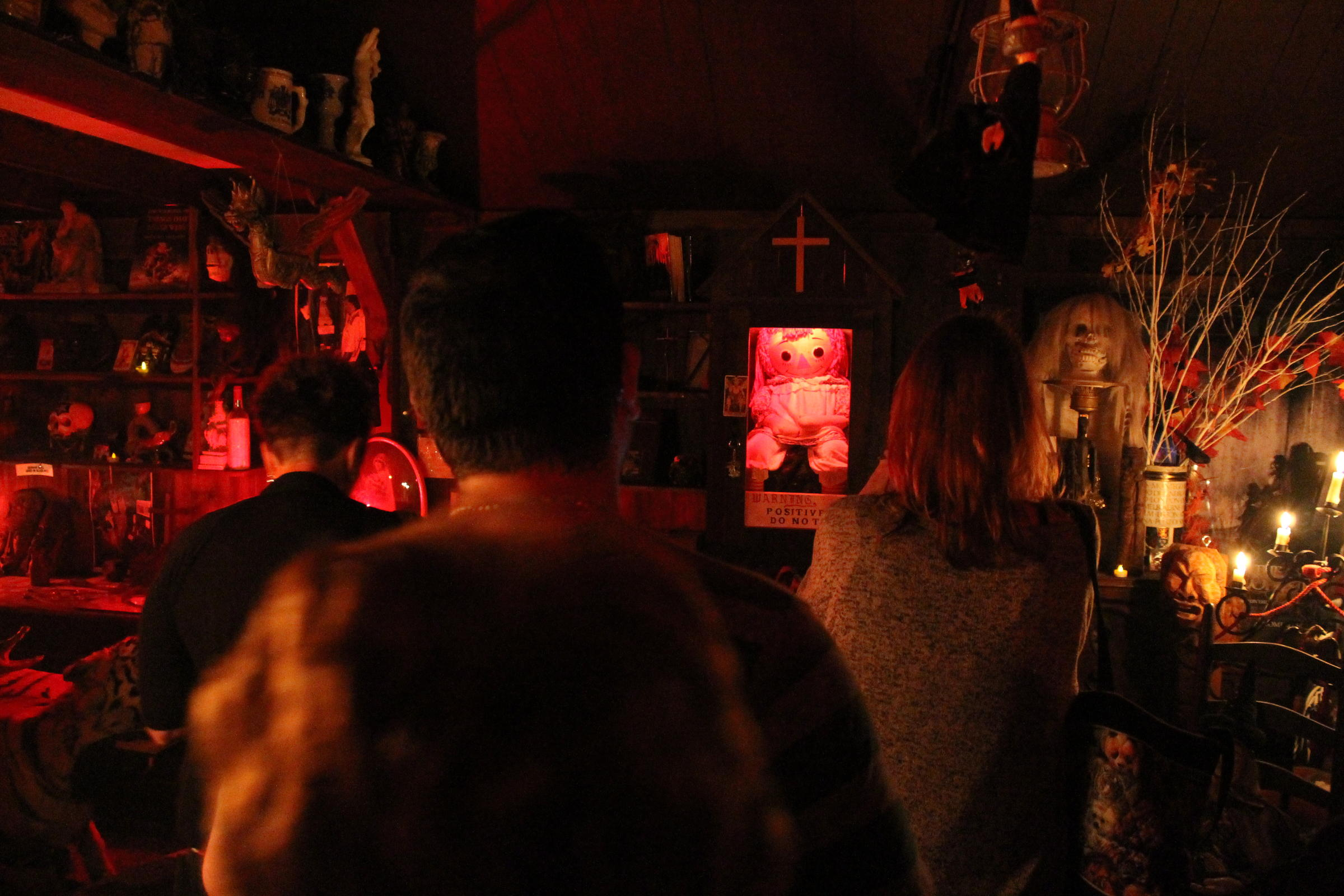the haunted annabelle doll