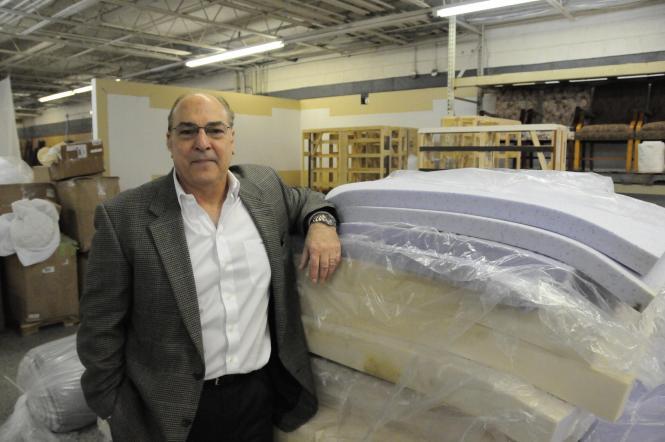 Bob Savino Runs Two Mattress Businesses Out Of His Greensboro Warehouse