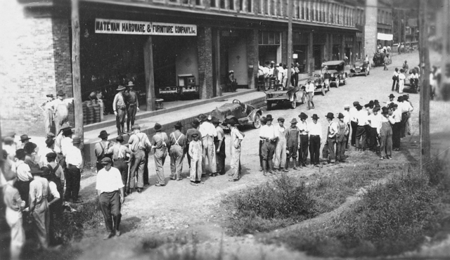 August 24 1921 Miners March to Protest Martial Law in