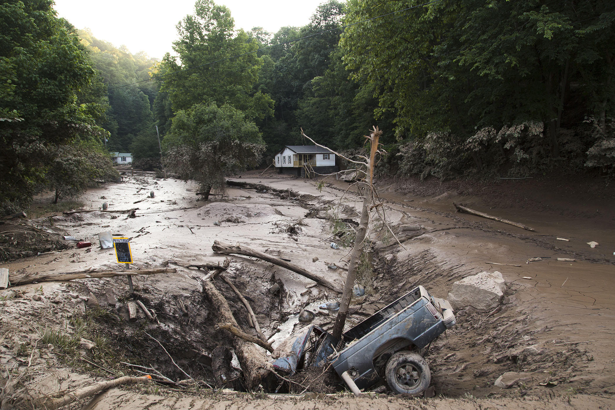 Flash Flood Watch Issued for Some HardHit Counties  West