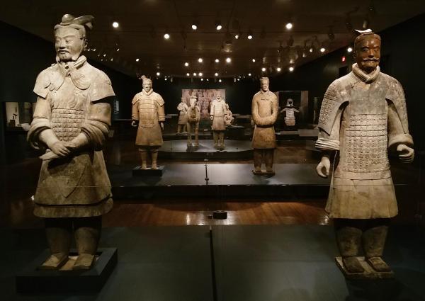 Terracotta Army Exhibit Cincinnati Art Museum Wvxu