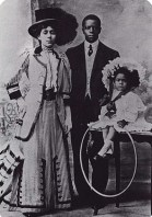 Marshall 'Major' Taylor his wife Daisy and their daughter Sydney