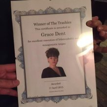 Winner of #TheTrashies 2015 - Grace Dent