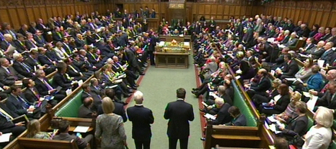 Syria debate - House of Commons