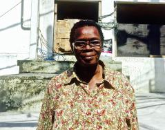 """Regina Nunes, 60, is a lifelong resident of Vidigal. She said the life in the community has improved hugely over the years but certain problems still persist. """"We have a huge respect for them (the police). It is the type of respect based on fear."""""""