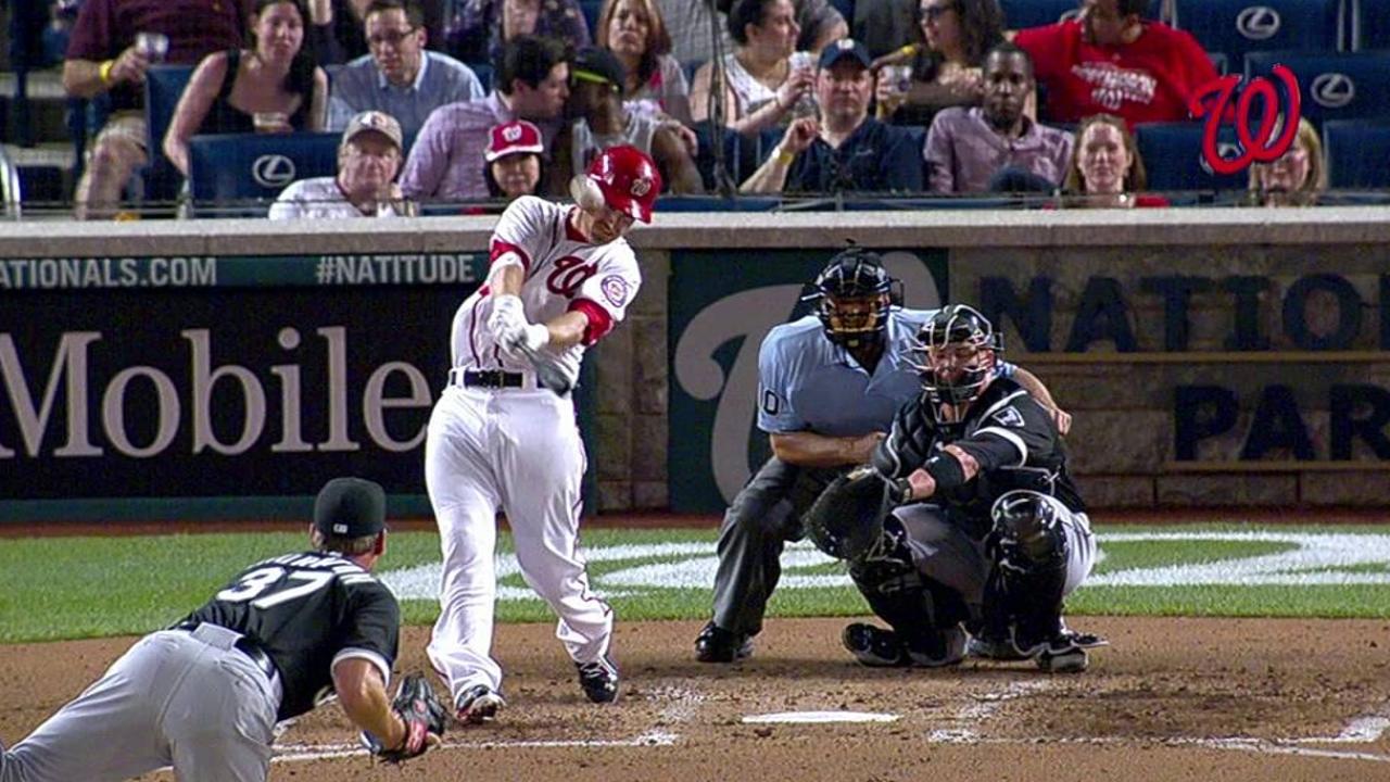 LaRoche Leads Nats' Homer Charge Vs White Sox MLB Com