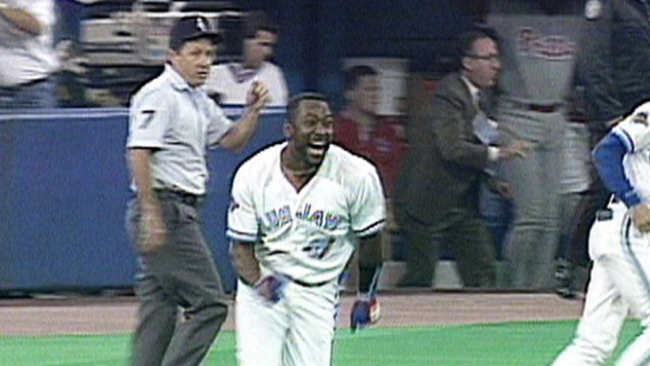 Indians Blue Jays Connected By Joe Carter MLB Com