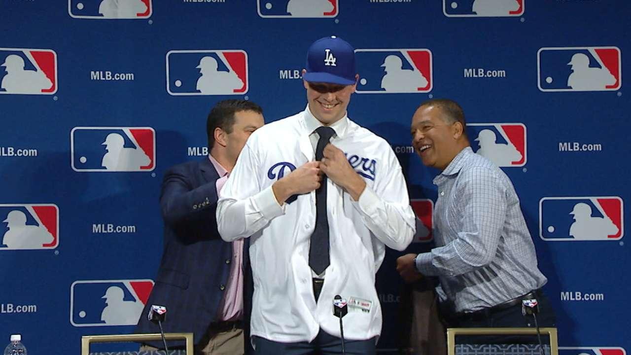 Dodgers Sign Free Agent Pitcher Rich Hill MLB Com