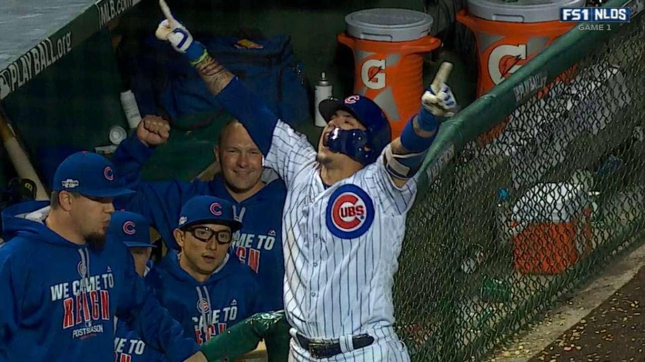 Javier Baez Hits Game Winning Homer In NLDS MLB Com