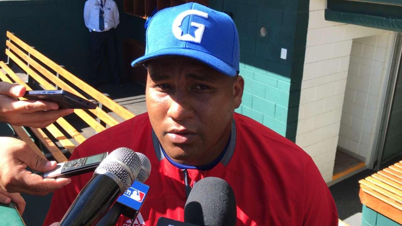 Alfredo Despaigne sigue firme representando a Cuba en la Serie del Caribe