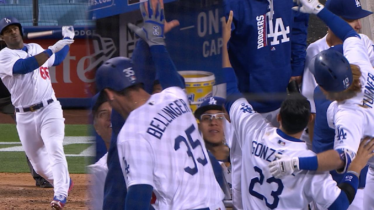 Dodgers Hit 3 Straight Homers In Walk Off Win MLB Com