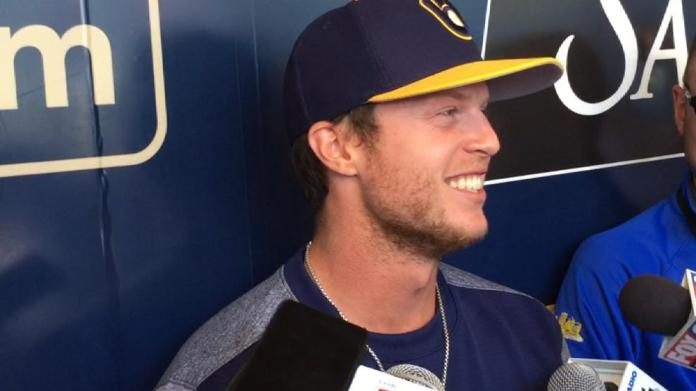 Brewers prospect Brett Phillips used to play H-O-R-S-E against Macho Man Randy Savage