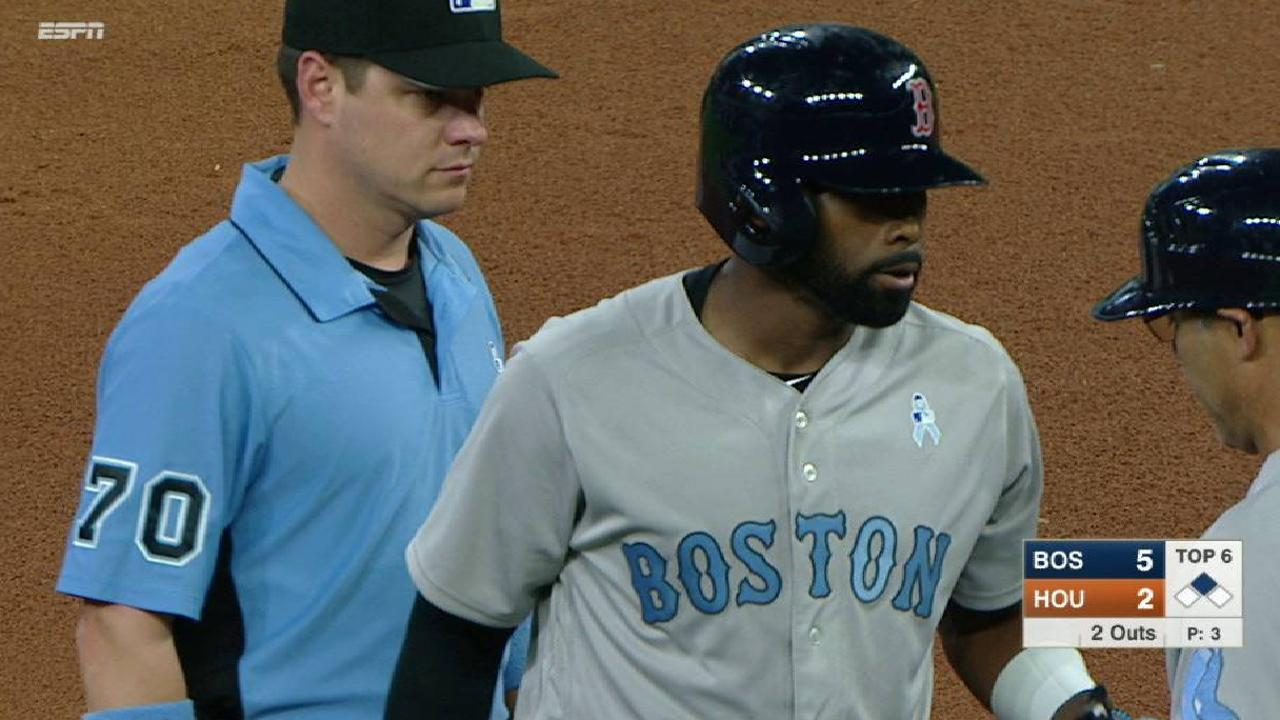 Bradley Jr.'s two-run double  Xander Bogaerts leads Red Sox into tie for 1st mlbf 1514530183 th 45