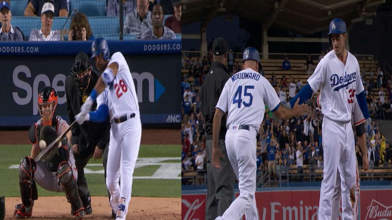 Yasiel Puig Drives In 4 In Dodgers' Win MLB Com