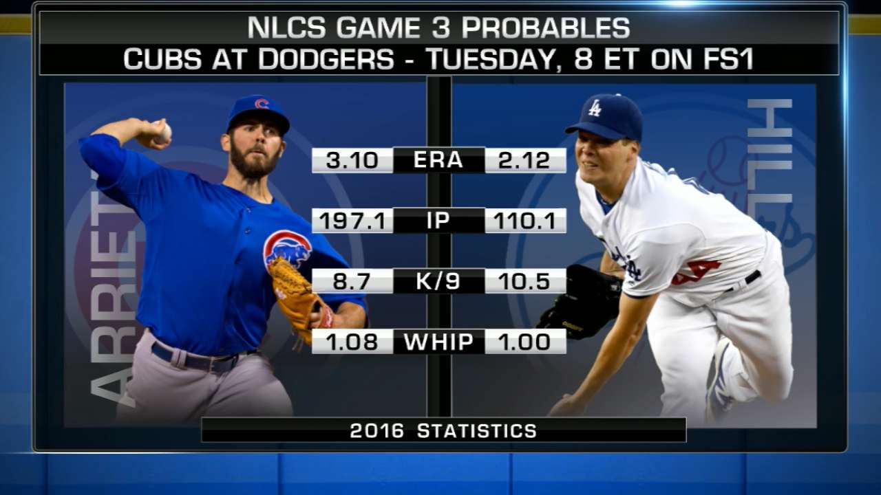 Cubs Dodgers Lineups For NLCS Game 3 MLB Com