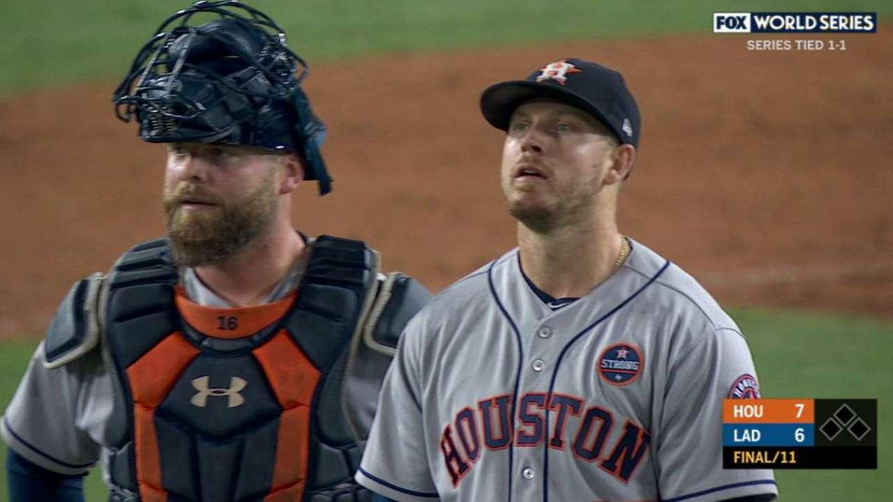 Astros Dodgers World Series Game 2 IRL MLB Com