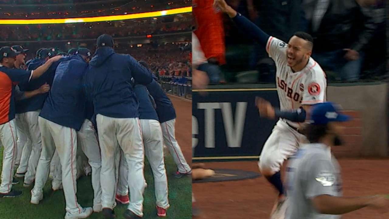 Dodgers Astros World Series Game 5 IRL MLB Com