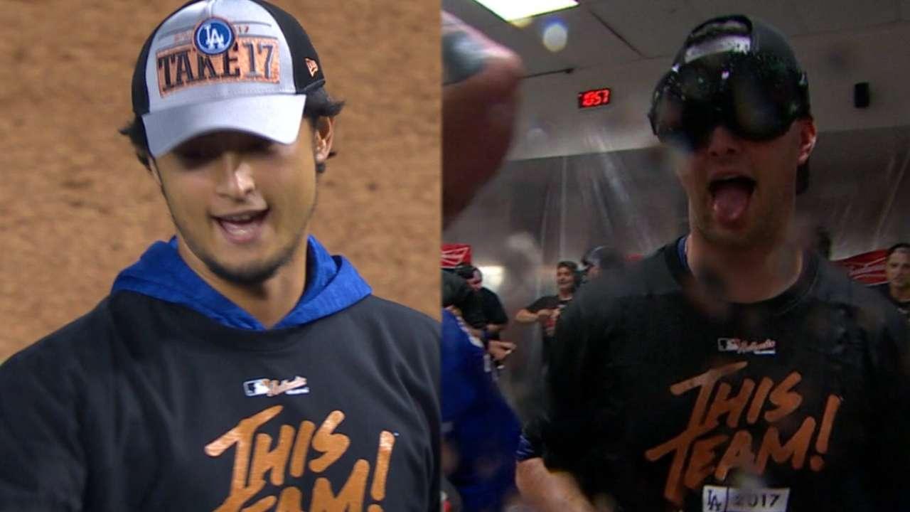 Dodgers Sweep D Backs For Return Trip To NLCS MLB Com