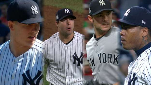 Image result for yankees bullpen