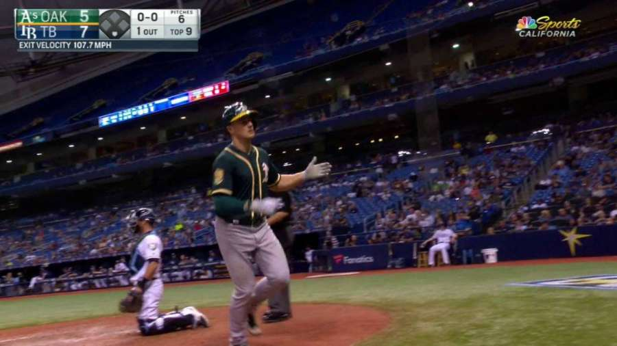 Chapman's 434-foot home run