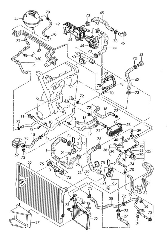 Ke30 Manual Auto Radiator Difference Forum