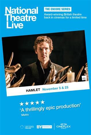 Cineplexcom  Hamlet  National Theatre Live 2015
